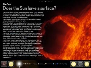 Bjork Solar System App