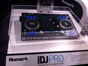 Numark iDJPRO iPad Dj Mixer Controller